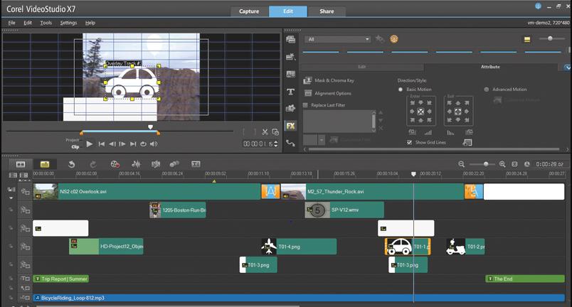 Corel Studio Pro X7
