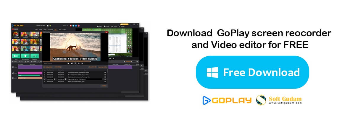 Download GoPlay Free Screen Recorder And Video Editor