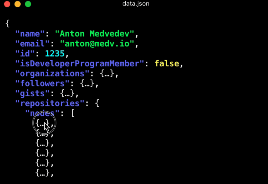 json file viewer