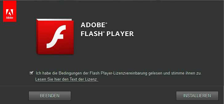 Flash Player download for windows